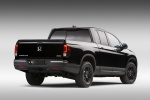 2019 Honda Ridgeline Black Edition AWD in Crystal Black Pearl - Static Rear Right View