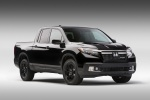 2019 Honda Ridgeline Black Edition AWD in Crystal Black Pearl - Static Front Right View