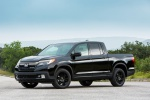 2019 Honda Ridgeline Black Edition AWD in Crystal Black Pearl - Static Front Left Three-quarter View