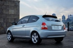 2010 Hyundai Accent Hatchback - Static Rear Left Three-quarter View