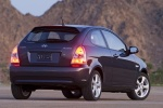 2010 Hyundai Accent Hatchback in Ebony Black - Static Rear Right View