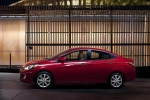 2013 Hyundai Accent GLS Sedan in Boston Red - Static Side View