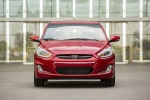 2015 Hyundai Accent Hatchback in Boston Red Metallic - Static Frontal View