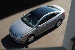 2015 Hyundai Azera Limited in Pewter Gray Metallic - Static Front Left Three-quarter Top View