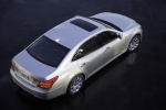 2011 Hyundai Equus in Platinum Metallic - Static Rear Right Three-quarter Top View