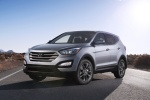 2013 Hyundai Santa Fe Sport in Moonstone Silver - Static Front Left View