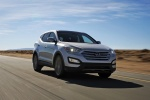 2013 Hyundai Santa Fe Sport in Moonstone Silver - Driving Front Right View