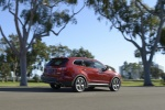 2014 Hyundai Santa Fe in Regal Red Pearl - Static Rear Right Three-quarter View