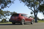 2016 Hyundai Santa Fe in Regal Red Pearl - Static Rear Right View