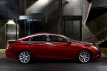 2013 Hyundai Sonata in Sparkling Ruby Mica - Static Side View