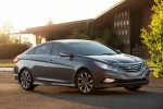 2014 Hyundai Sonata 2.0T Limited in Harbor Gray Metallic - Static Front Right Three-quarter View