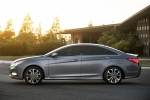 2014 Hyundai Sonata 2.0T Limited in Harbor Gray Metallic - Static Side View
