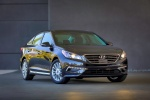 2015 Hyundai Sonata Limited in Dark Truffle - Static Front Right View