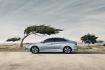2015 Hyundai Sonata Hybrid in Blue Sky Metallic - Static Side View