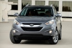 2014 Hyundai Tucson in Shadow Gray - Static Frontal View