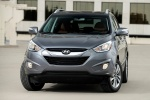 2015 Hyundai Tucson in Shadow Gray - Static Frontal View