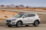 2020 Hyundai Tucson in Silver - Driving Front Left Three-quarter View