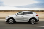 2020 Hyundai Tucson in Silver - Driving Left Side View