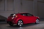 2012 Hyundai Veloster in Boston Red - Static Rear Right Three-quarter View