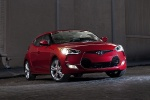 2013 Hyundai Veloster in Boston Red Metallic - Static Front Right Three-quarter View