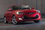 2014 Hyundai Veloster in Boston Red Metallic - Static Front Right View
