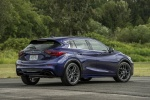 2018 Infiniti QX30S in Ink Blue - Static Rear Right View