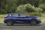 2018 Infiniti QX30S in Ink Blue - Static Side View