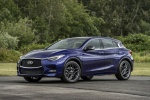 2018 Infiniti QX30S in Ink Blue - Static Front Left View