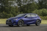 2018 Infiniti QX30S in Ink Blue - Static Front Left Three-quarter View