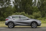 2018 Infiniti QX30 AWD in Graphite Shadow - Static Side View