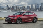 2018 Infiniti QX30S in Magnetic Red - Static Front Left Three-quarter View