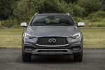 2018 Infiniti QX30 AWD in Graphite Shadow - Static Frontal View