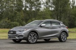 2018 Infiniti QX30 AWD in Graphite Shadow - Static Front Left Three-quarter View