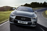 2018 Infiniti QX30 AWD in Graphite Shadow - Driving Frontal View