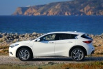 2018 Infiniti QX30 in Majestic White - Static Side View