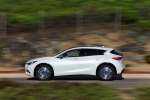 2018 Infiniti QX30 in Majestic White - Driving Side View