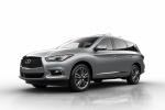 2018 Infiniti QX60 in Liquid Platinum - Static Front Left Three-quarter View