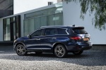 2018 Infiniti QX60 in Hermosa Blue - Static Rear Left Three-quarter View