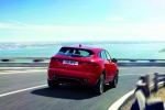 2019 Jaguar E-Pace P300 R-Dynamic AWD in Firenze Red Metallic - Driving Rear Right View