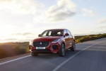 2019 Jaguar E-Pace P300 R-Dynamic AWD in Firenze Red Metallic - Driving Front Left View
