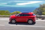 2019 Jaguar E-Pace P300 R-Dynamic AWD in Firenze Red Metallic - Driving Left Side View