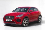 2019 Jaguar E-Pace P300 R-Dynamic AWD in Firenze Red Metallic - Static Front Left Three-quarter View