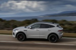 2019 Jaguar E-Pace P300 R-Dynamic AWD in Fuji White - Driving Left Side View