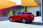 2019 Jaguar E-Pace P300 R-Dynamic AWD in Firenze Red Metallic - Static Rear Left Three-quarter View