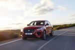 2020 Jaguar E-Pace P300 R-Dynamic AWD in Firenze Red Metallic - Driving Front Left View