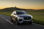 2020 Jaguar E-Pace P300 R-Dynamic AWD in Corris Gray - Driving Front Right View