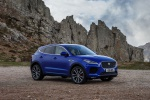 2020 Jaguar E-Pace P300 R-Dynamic AWD in Caesium Blue Metallic - Static Front Right Three-quarter View