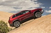 2017 Jeep Cherokee Trailhawk 4WD in Deep Cherry Red Crystal Pearlcoat from a side view