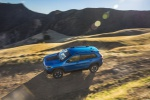 2019 Jeep Cherokee Trailhawk 4WD in Hydro Blue Pearlcoat - Driving Left Side Top View