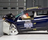 2020 Jeep Cherokee IIHS Frontal Impact Crash Test Picture